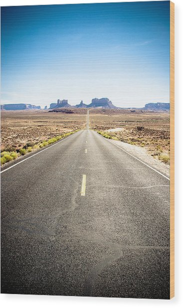 Wood Print featuring the photograph The Road Ahead by Jason Smith