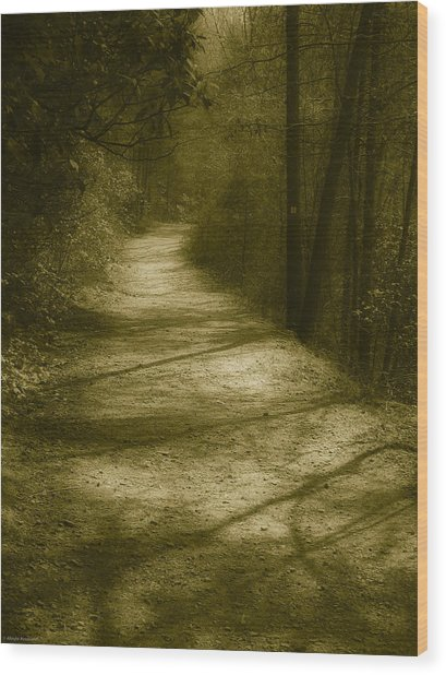The Road To . . .  Wood Print