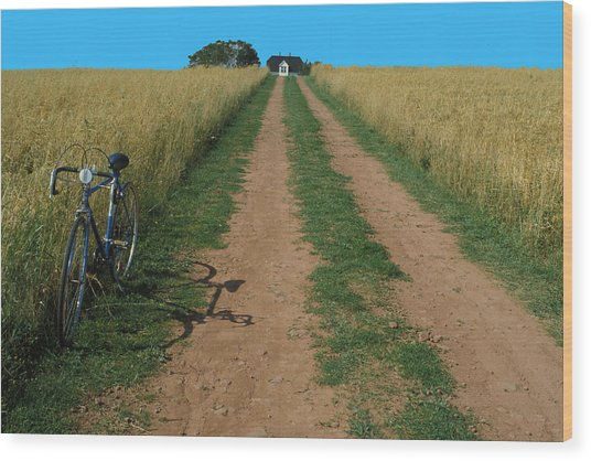 The Road To Home Wood Print