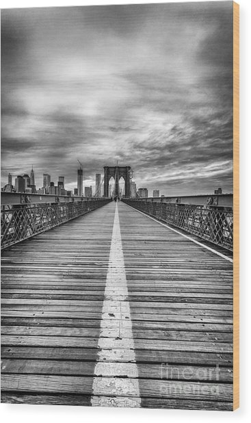 The Road To Tomorrow Wood Print