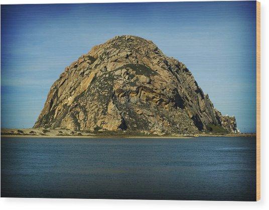 The Rock Wood Print by John Gusky
