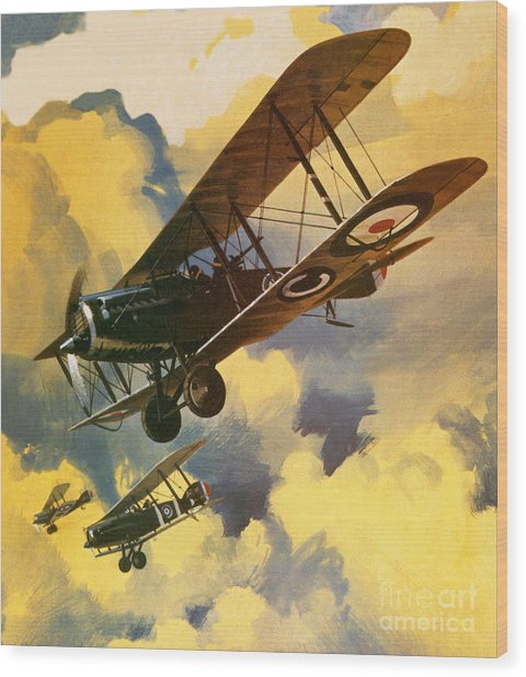 The Royal Flying Corps Wood Print