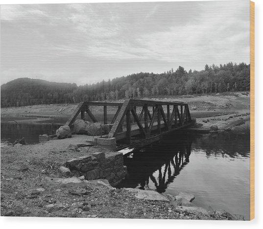 The Rusted Bridge Wood Print by Eric Radclyffe