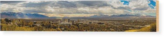 The Salt Lake Valley 2016 Wood Print