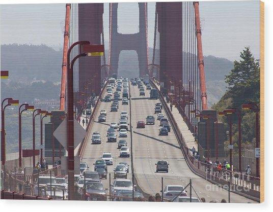 The San Francisco Golden Gate Bridge 5d2943 Wood Print