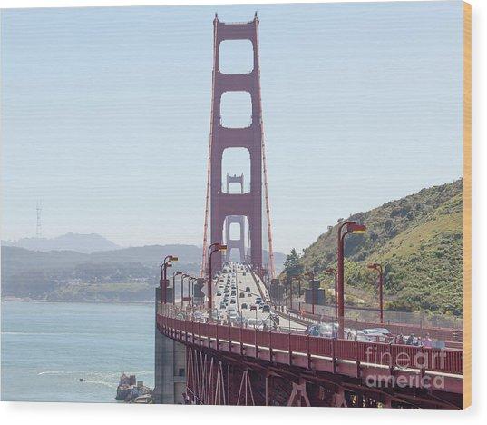 The San Francisco Golden Gate Bridge 5d2944 Wood Print