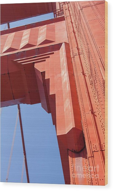 The San Francisco Golden Gate Bridge 5d3000 Wood Print