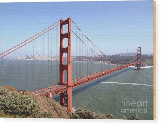 The San Francisco Golden Gate Bridge 7d14507 Wood Print