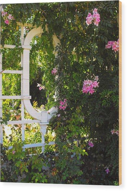 The Secret Garden Wood Print