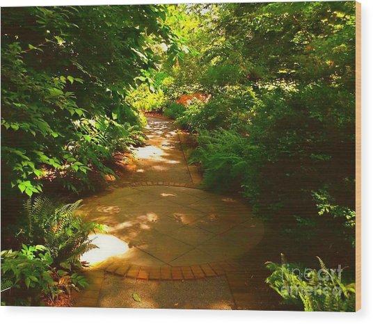 The Secret Path Wood Print