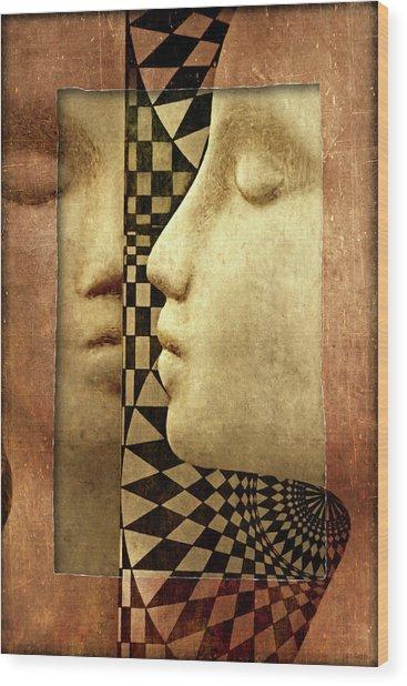 The Silent Window Wood Print