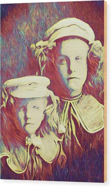 The Sisters Savage Wood Print