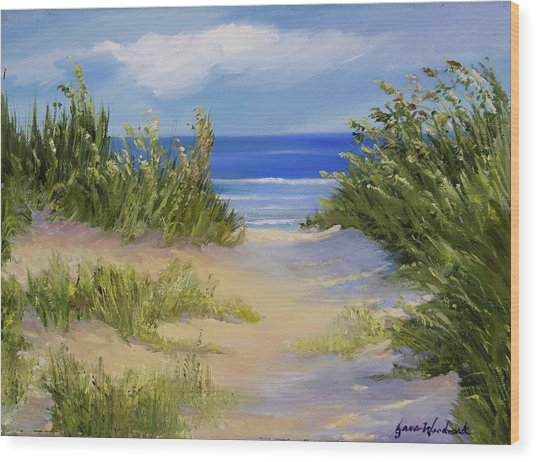 The Soft Winds Of Summer Wood Print by Jane Woodward