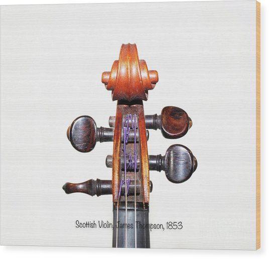 The Sound Of 1853 Wood Print by Steven Digman