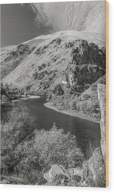 South Fork Boise River 3 Wood Print
