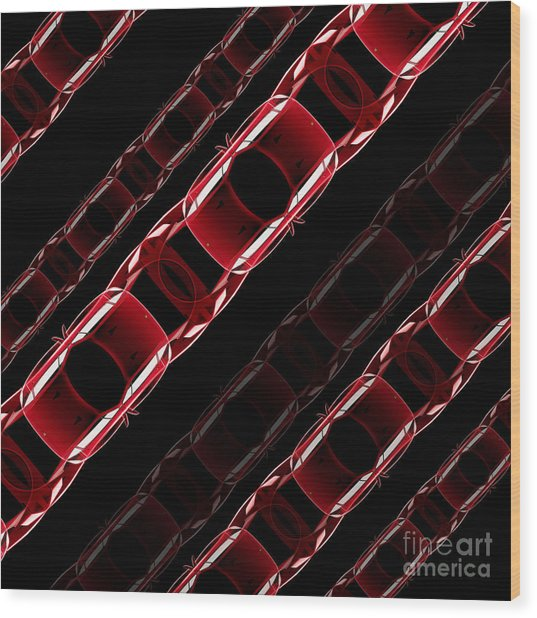 The Speed Of Traffic - Ferrari F40 Wood Print