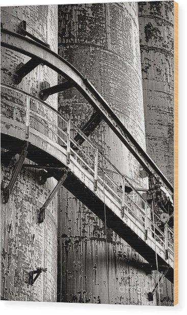 The Steel Citadel Wood Print