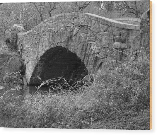 The Stone Bridge Wood Print by Dennis Curry