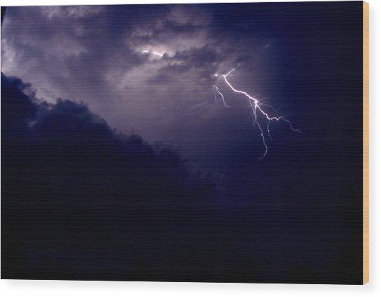 The Storm 1.3 Wood Print