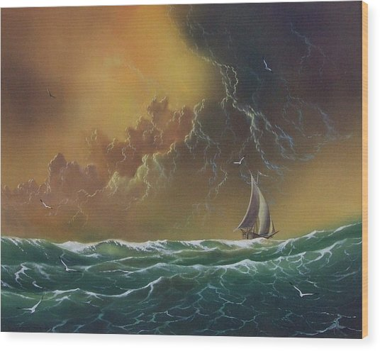 The Storm Wood Print by Don Griffiths