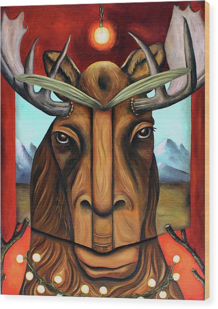 The Story Of Moose Wood Print