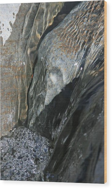 The Stream Scream Wood Print by Gary Kaylor