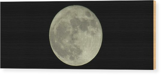 The Super Moon 3 Wood Print