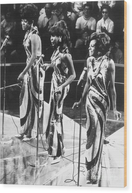 The Supremes, C1963 Wood Print by Granger
