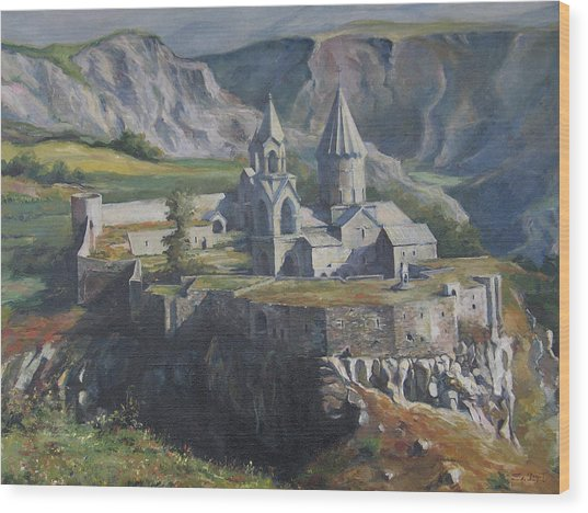 The Tatev Monastery Wood Print