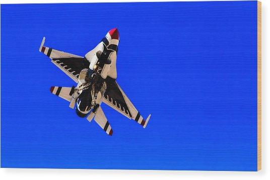 The Team Usaf Thunderbirds Wood Print