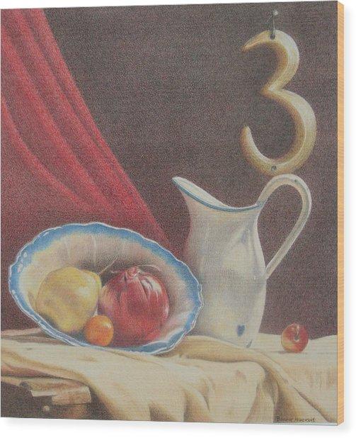 The Third Element Wood Print by Bonnie Haversat