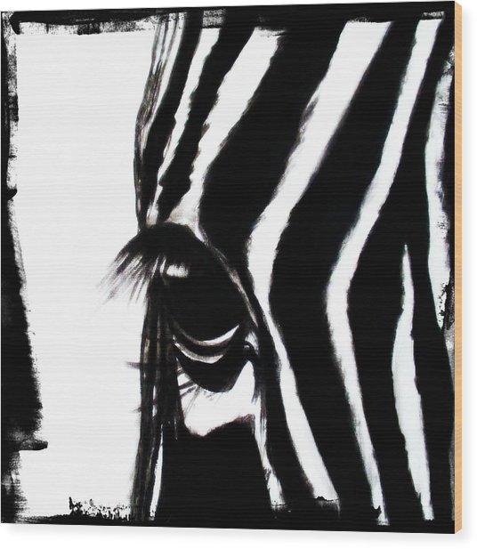 The Three Musketeers - Zebra Wood Print