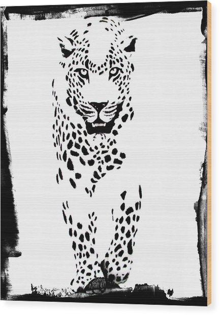 The Three Musketeers - Leopard Wood Print