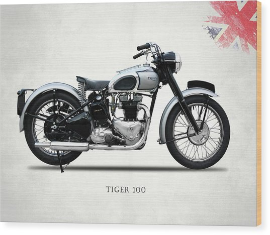 The Tiger 100 1949 Wood Print