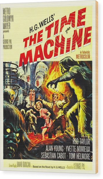 The Time Machine B Wood Print