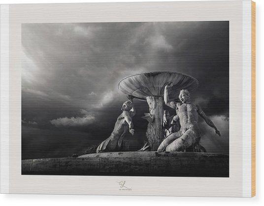 The Titans Wood Print
