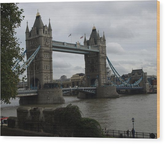The Tower Bridge Wood Print
