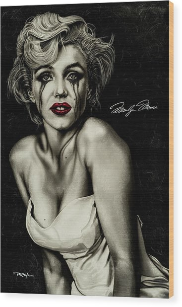 The True Marilyn Wood Print