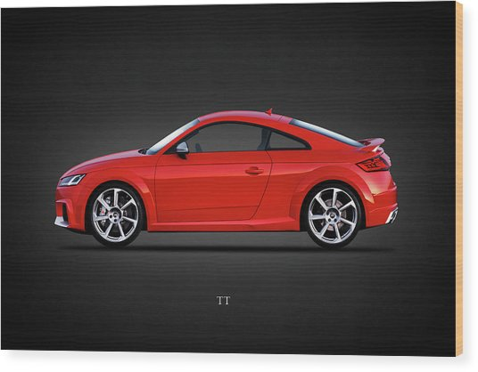The Tt Coupe Wood Print