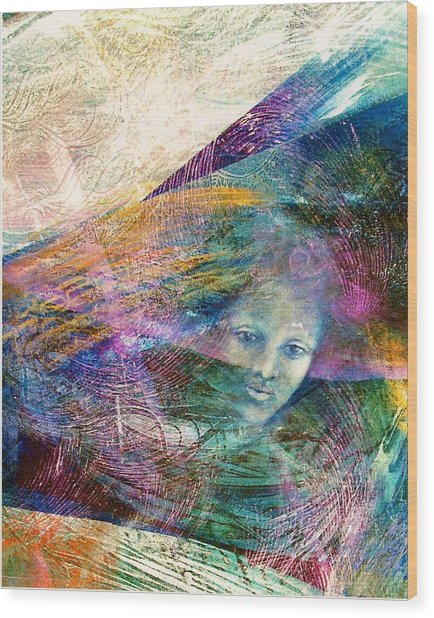The Undine Wood Print by Sue Reed