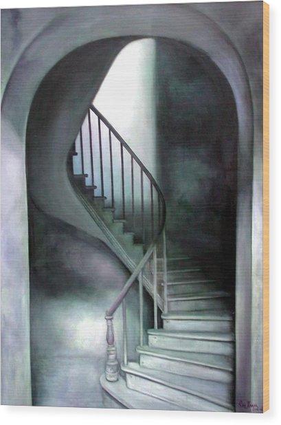 The Upper Room Wood Print by Riek  Jonker