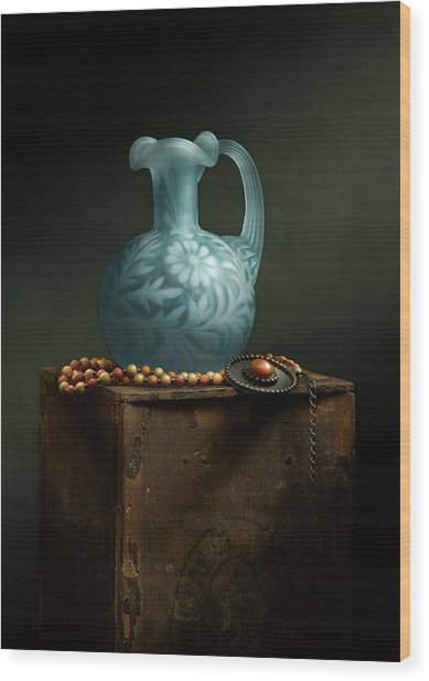 Wood Print featuring the photograph The Vase by Cindy Lark Hartman