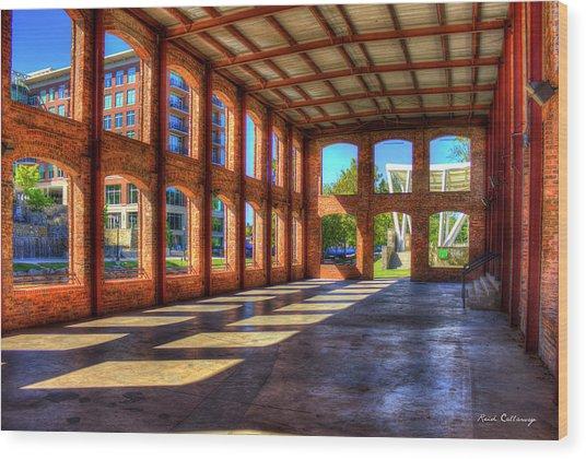 The Venue Old Mill Wedding Venue Reedy River South Caroline Art Wood Print
