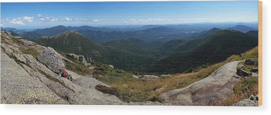 The View South From Mt. Marcy Wood Print