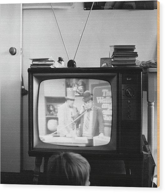 Phoenix Television Circa 1971 Wood Print