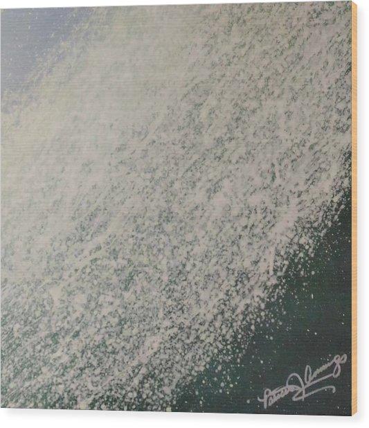 The Wedge - Dreaming Waves Wood Print