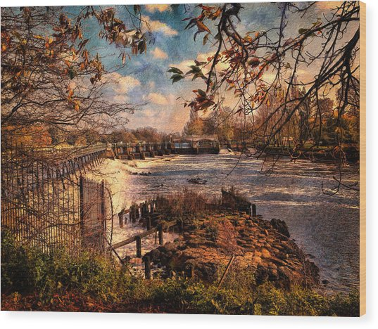 The Weir At Teddington Wood Print