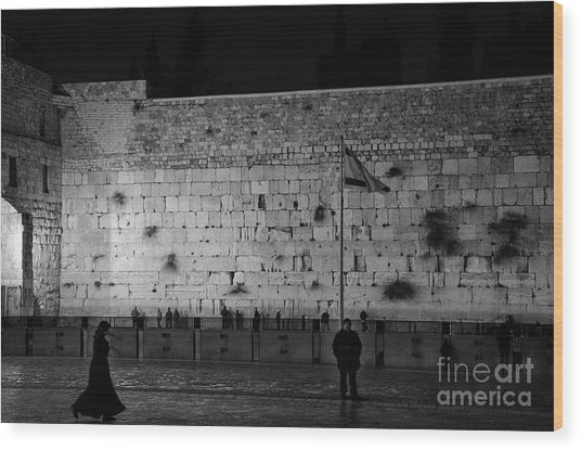 The Western Wall, Jerusalem Wood Print