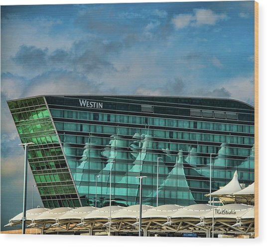 The Westin At Denver Internation Airport Wood Print