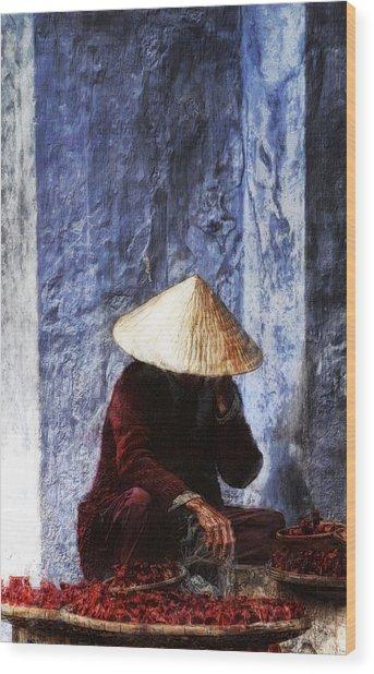 The Whistler Wood Print